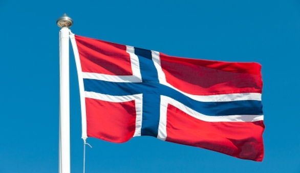 Nationalflagge Norwegen