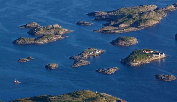Inseln in Norwegen