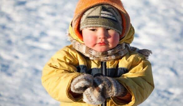 Norwegisches Kind