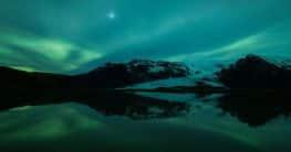 Polarnacht in Norwegen